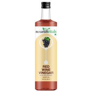 Buy Nourish Vitals Red Wine Vinegar - Raw, Unfiltered & Undiluted - Nykaa