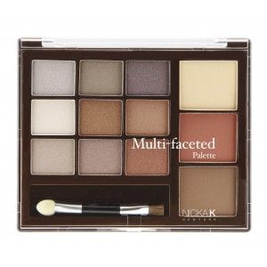 Buy Nicka K Pro Collection Multi-Faceted Palette - NYA50 - Nykaa