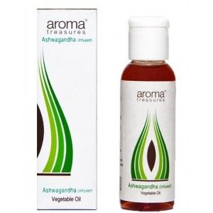 Buy Aroma Treasures Ashwagandha Vegetable Oil  - Nykaa