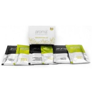 Buy Aroma Treasures Skin Whitening Single Time Use kit (Pack of 2) - Nykaa