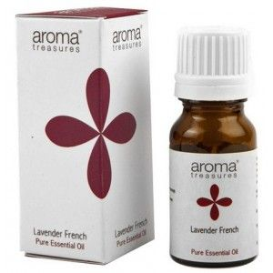 Buy Aroma Treasures Lavender French Pure Essential Oil - Nykaa