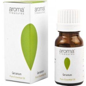 Buy Aroma Treasures Geranium Pure Essential Oil - Nykaa