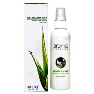 Buy Aroma Treasures Aloe Vera Face Wash - Nykaa