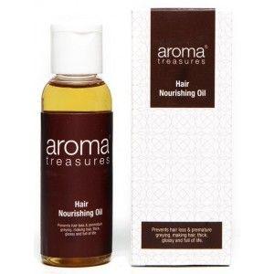 Buy Aroma Treasures Hair Nourishing Oil - Nykaa