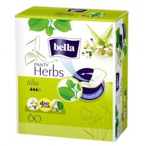 Buy Bella Herbs Tilia Breathable Pantyliners 60 Pcs - Nykaa