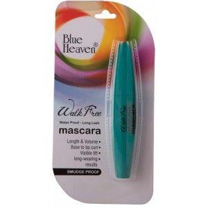 Buy Blue Heaven Walk Free Mascara (Water Proof - Long Lash) - Green Pack - Nykaa