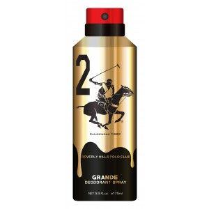 Buy Beverly Hills Polo Club 2 Gold Grande Deodorant Spray - Nykaa