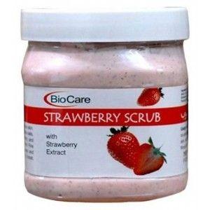 Buy BioCare Strawberry Scrub - Nykaa