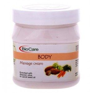 Buy BioCare Body Massage Cream - Nykaa