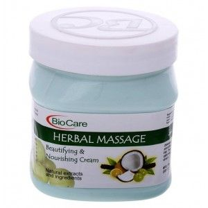 Buy BioCare Herbal Massage Beautifying & Nourishing Cream - Nykaa