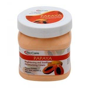 Buy BioCare Papaya Moisturising & Brightening Cream - Nykaa