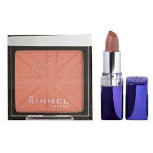 Buy Rimmel Blush And Moisture Renew Lipstick Combo - Nykaa