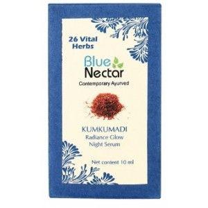 Buy Blue Nectar Kumkumadi - Radiance Glow Night Serum - Nykaa