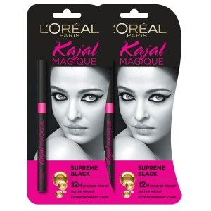 Buy L'Oreal Paris Kajal Magique (Pack of 2) - Nykaa