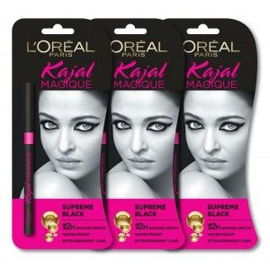 Buy L'Oreal Paris Kajal Magique (Pack of 3) - Nykaa