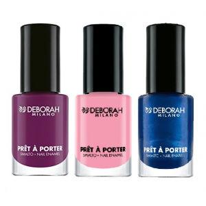 Buy Deborah Pret A Porter Pop Nail Enamel - 5 Extravagant Orchid + Pret A Porter - 12 + Free Pret A Porter - 30 - Nykaa
