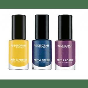 Buy Deborah Pret A Porter Pop Nail Enamel - 10 Frizzy Yellow + Pret A Porter - 99 + Free Pret A Porter - 65 - Nykaa
