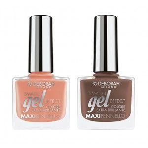 Buy Deborah Gel Effect Nail Enamel Combo 2 - Nykaa