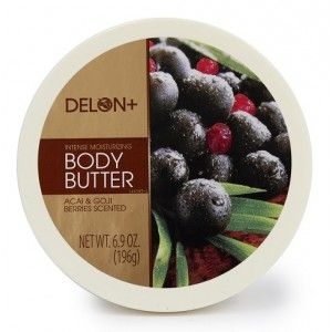 Buy Delon Intense Moisturizing Acai & Goji Berries Body Butter - Nykaa
