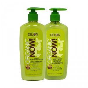 Buy Delon Organic Now Skincare Body Wash + Lotion Combo - Nykaa