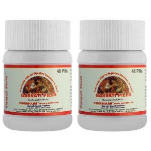 Buy Dr. Vaidya's Gasvati Pills For Digestive Disorders & Gas (Pack Of 2) - Nykaa