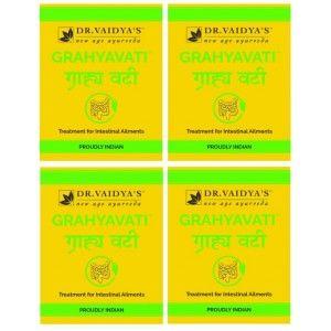 Buy Dr. Vaidya's Grahyavati Pills For Intestinal Ailment (Pack Of 4) - Nykaa