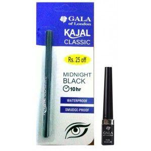 Buy GalaOfLondon Smokey Grey Liner And Kajal Combo - Nykaa