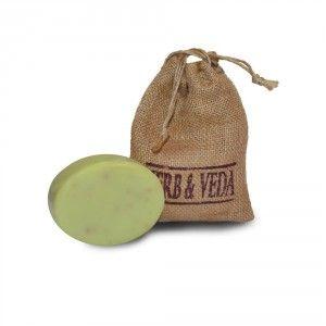 Buy Herb & Veda Haldi Tulsi With Vitamin E Soap - Nykaa