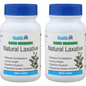 Buy HealthVit Good Morning Natural Laxative (Pack of 2) - Nykaa