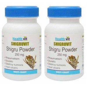 Buy Healthvit Shigruvit Shigru Powder 250mg (Pack of 2) - Nykaa