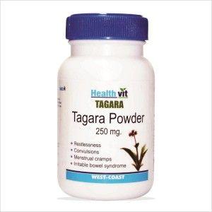 Buy HealthVit Tagara Powder 250mg 60 Capsules For Sleep Disorders - Nykaa