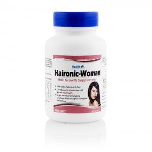 Buy Healthvit Haironic-Women Hair Growth Supplement 60 Tablets - Nykaa