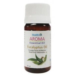 Buy HealthVit Aroma Eucalyptus Essential Oil - Nykaa