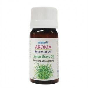Buy HealthVit Aroma Lemon Grass Essential Oil - Nykaa