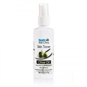 Buy HealthVit Bath & Body Natural Olive Skin Toner - Nykaa