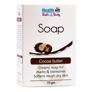 Buy HealthVit Bath & Body Cocoa Butter Soap - Nykaa