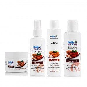 Buy HealthVit Almond Oil Skin Care Kit - Nykaa