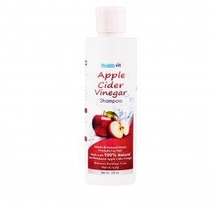 Buy HealthVit Apple Cider Vinegar Shampoo - Nykaa