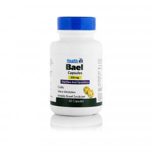 Buy HealthVit Bael 250Mg 60 Capsules - Nykaa