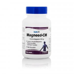 Buy Healthvit Magneed-CM 250 Mg 60 Capsules - Nykaa