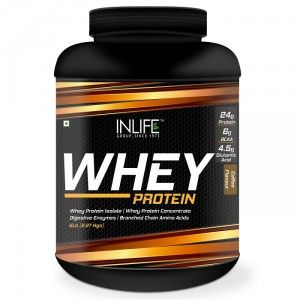 Buy INLIFE Whey Protein Powder 5 lbs (Coffee Flavor) Body Building Supplement - Nykaa