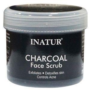 Buy Inatur Charcoal Face Scrub - Nykaa