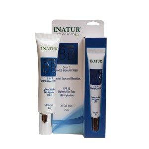 Buy Inatur Whitening BB Cream 5 in 1 Face Beautyfier - Nykaa
