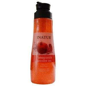 Buy Inatur Pomegranate Shower Gel - Nykaa