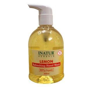 Buy Inatur Lemon Hand Wash - Nykaa