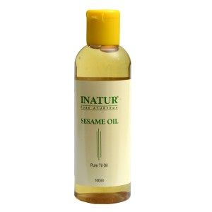 Buy Inatur Sesame Seed Ayurvedic Oil - Nykaa