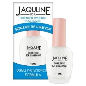 Buy Jaquline USA Double Use Top & Base Coat - Nykaa