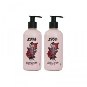 Buy Nykaa Country Rose Body Lotion Pack of 2 - Nykaa
