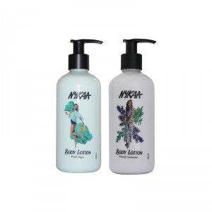 Buy Nykaa Fresh Aqua + French Lavender Body Lotion Combo - Nykaa