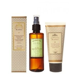 Buy Kama Ayurveda Daily Face Care Regime For Men - Nykaa